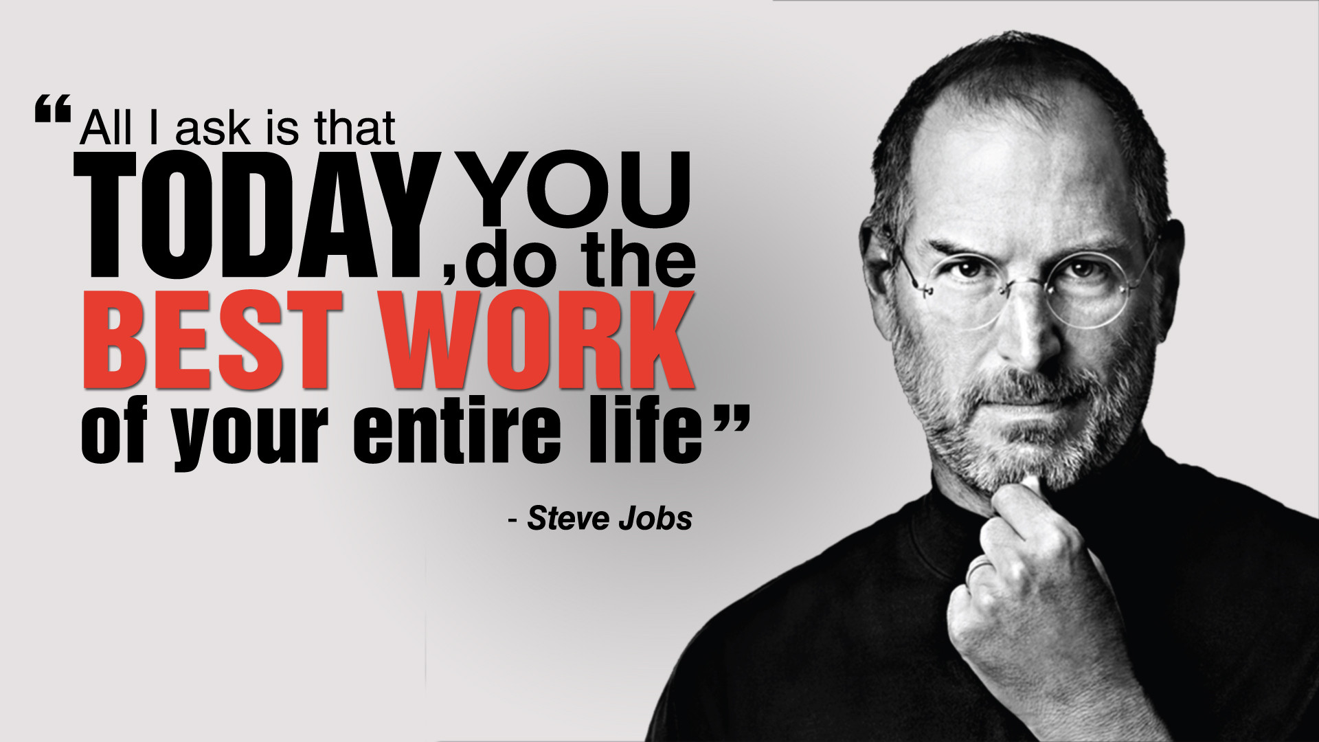 Steve Jobs motivational quote
