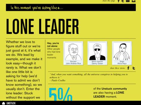 Unstuck infographic levenshouding