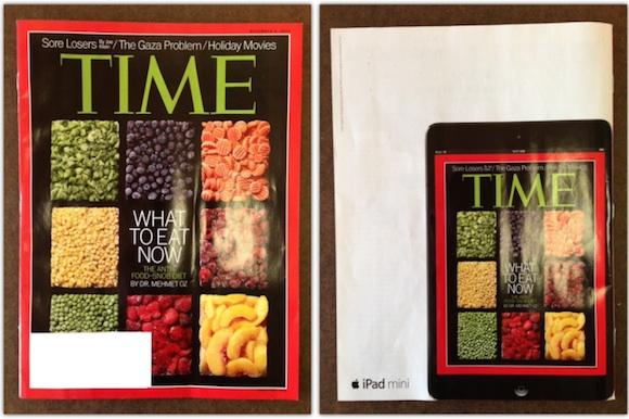 iPad mini Time Magazine reclame
