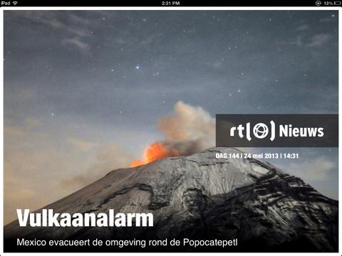 RTL Nieuws vernieuwd iPad
