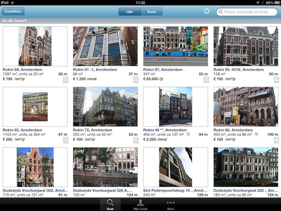 Funda in Business screenshot