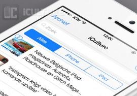 UI elementen iOS 7