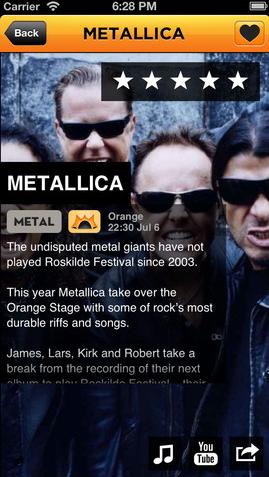 Roskilde artiesten