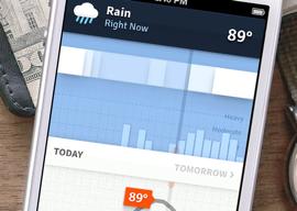 Weathertron weerapp iPhone