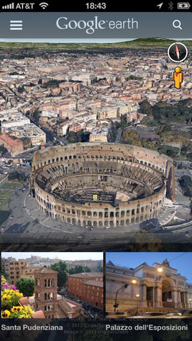 google earth rome