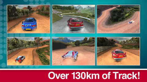 Colin McRae Rally 130 kilometer tracks