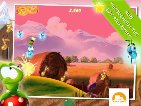 GU WO Hoppetee iPhone iPad Tiny Wings-spel