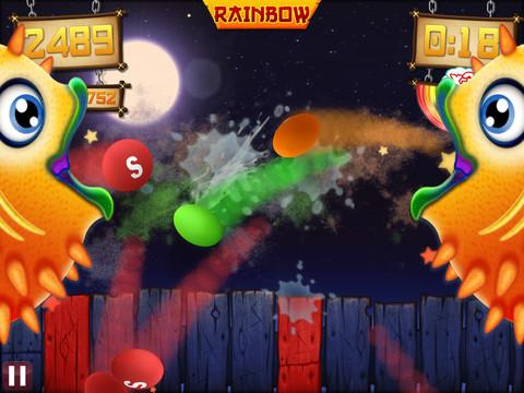Fruit Ninja vs Skittles screenshot