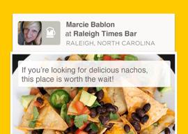 Foursquare vrienden inchecken na iPhone-update