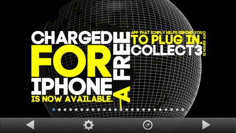 Spout wereldweergave iPhone