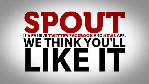 Spout stijlvol berichten showen iPhone