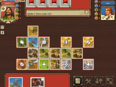 Rivals for Catan iPad bordspel