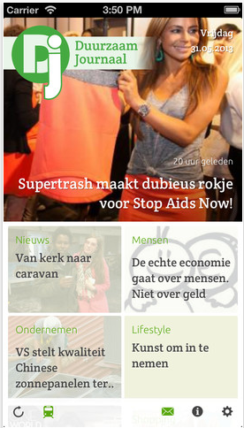 Duurzaam Journaal screenshot