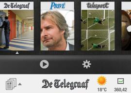 De Telegraaf iPhone vernieuwd uitgebracht