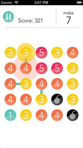 GU DI RADD als Dots variant iPhone