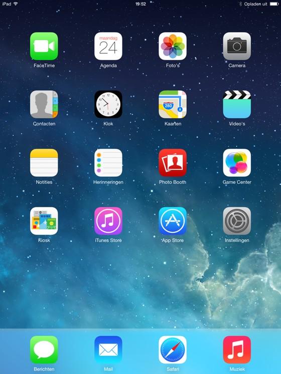 ios 7 ipad 1
