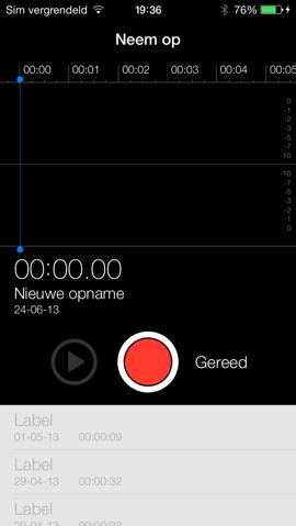 dictafoon app