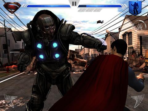 GU VR Man of Steel iPad screenshot