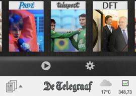 De Telegraaf header iPhone