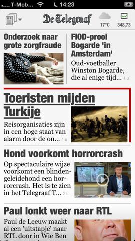 De Telegraaf HD iPhone vp