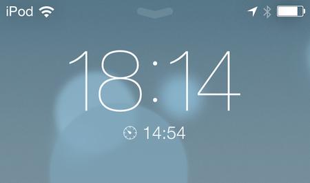 iOS 7 timers op beginscherm