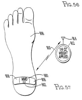 patent voet pleister