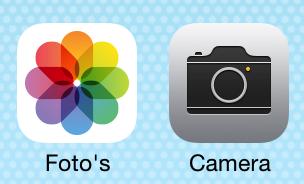 iOS 7 uitgelicht camera foto's
