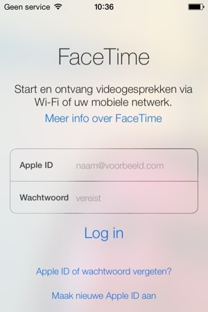 facetime apple id