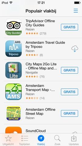 app store vlakbij 2