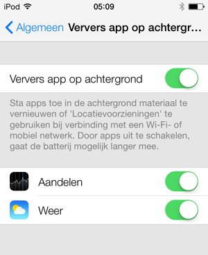 ververs-apps-op-achtergrond