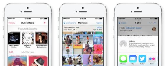 iOS 7 apps maken het apps moeilijk