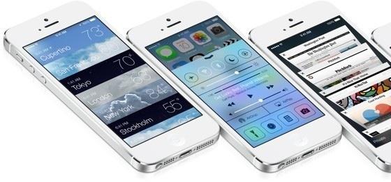 ios 7 iphones