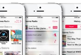 iTunes Radio spotlight