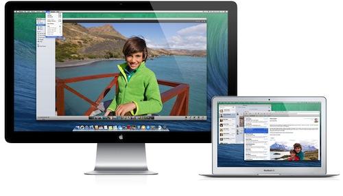 Multiple screens OS X