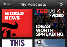Apple-apps Podcasts iOS
