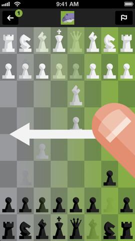 schaken swipe tall chess