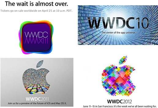 wwdc-logos-2010-2013