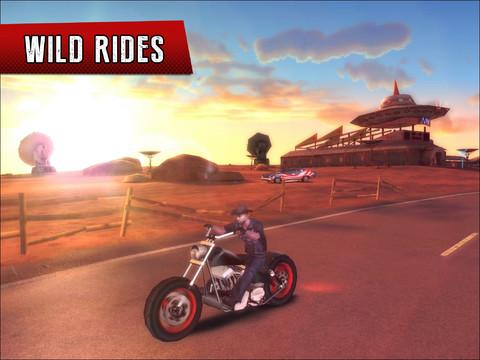 Gangstar Vegas rijden op Harley