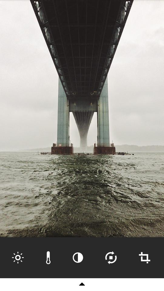 VSCO Cam bewerkte brug