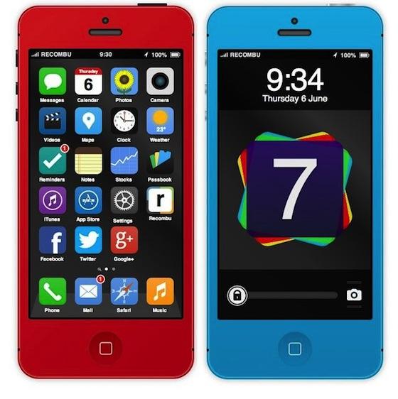 iOS 7 interactieve demo