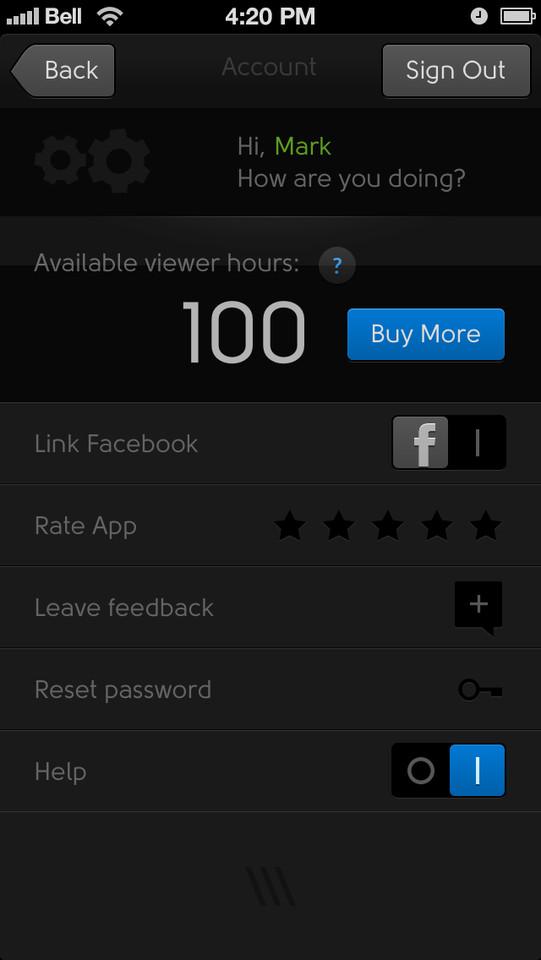 Penxy viewer hours in beeld