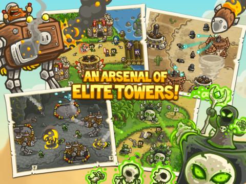 Kingdom Rush iPad iPhone tower-defense