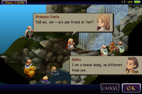 GU WO Final Fantasy Tactics iPhone