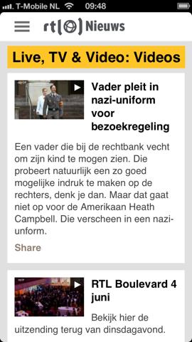 RTL Nieuws video's bekijken