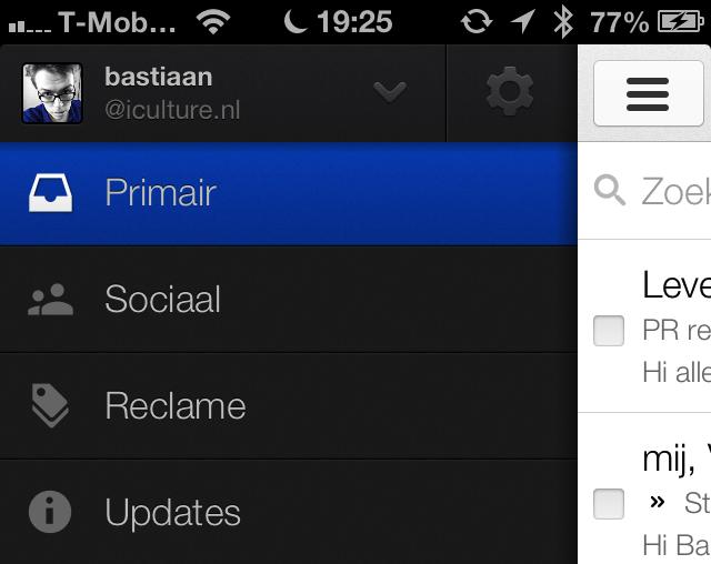 Gmail categorieen inbox