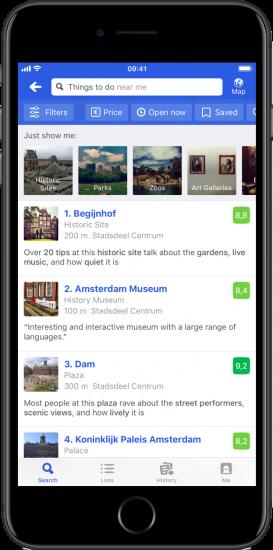 Beste apps voor locaties en bezienswaardigheden: TripAdvisor