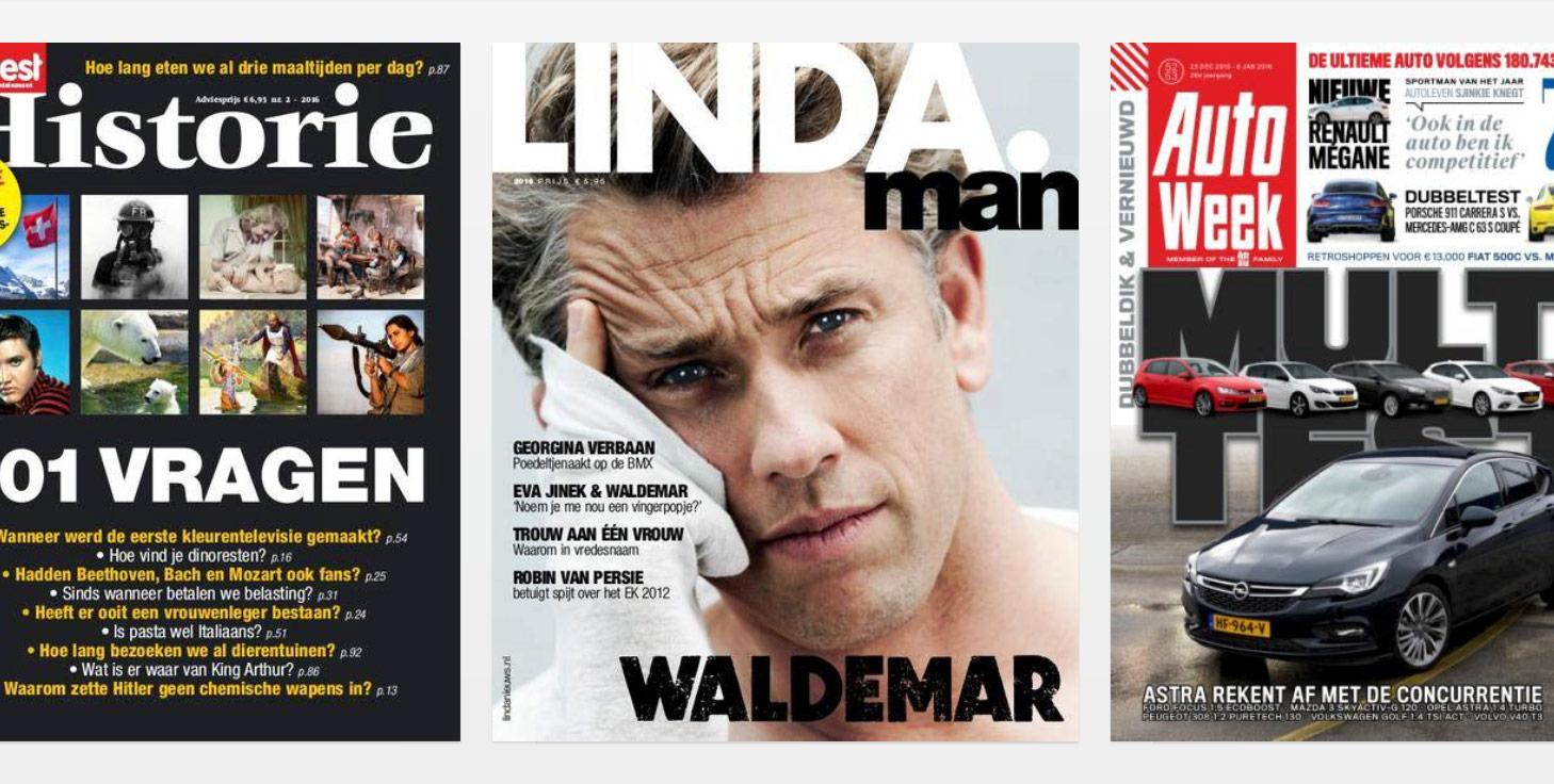 Tijdschriften op iPad en iPhone