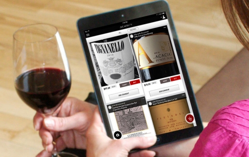 drync wijn scannen