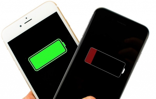 iphone-volle-lege-batterij