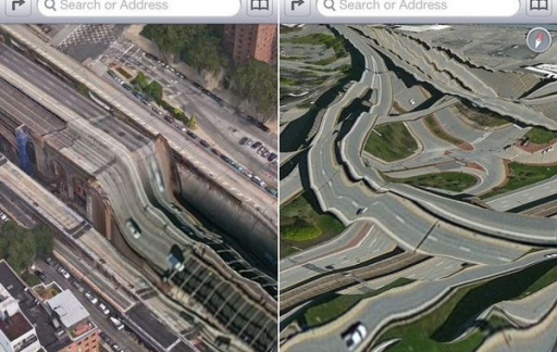 Apple Maps flater